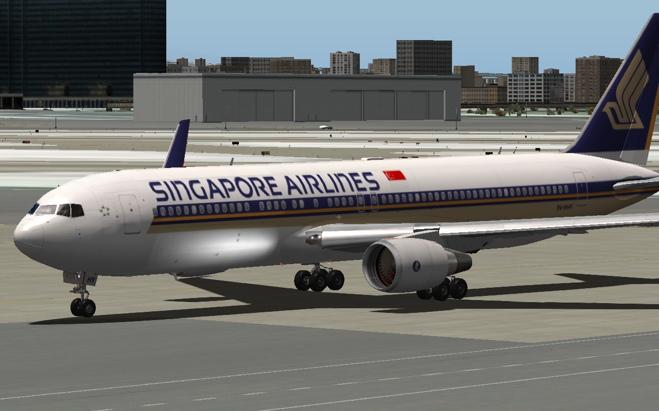 Singapore Airlines Boeing 767-300ER GE AWL - Heavy Metal - X-Pilot