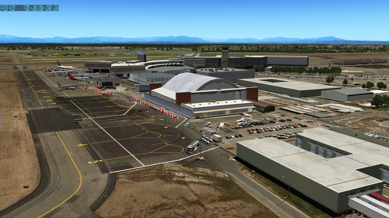 NZCH Christchurch International Airport (ISDG) - DSF Scenery