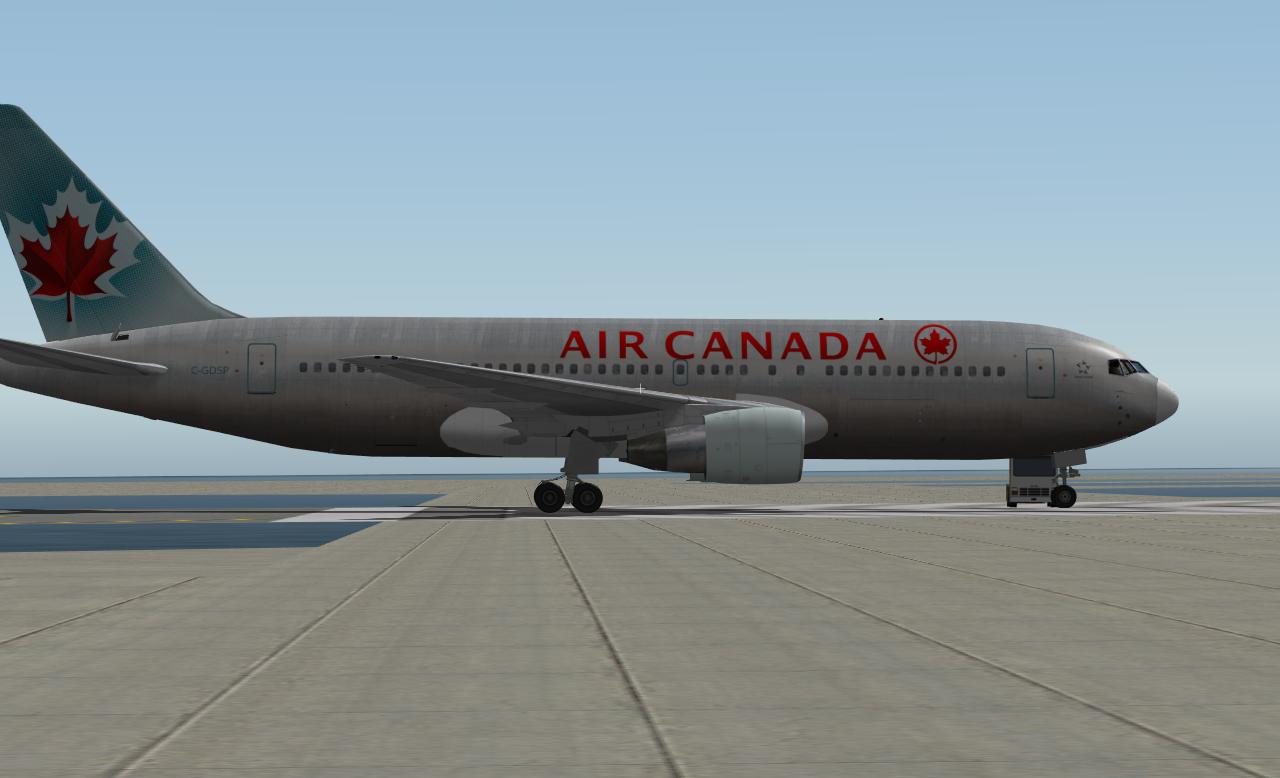 Boeing 767-200ER PW 4000 Model AL - Heavy Metal - X-Pilot