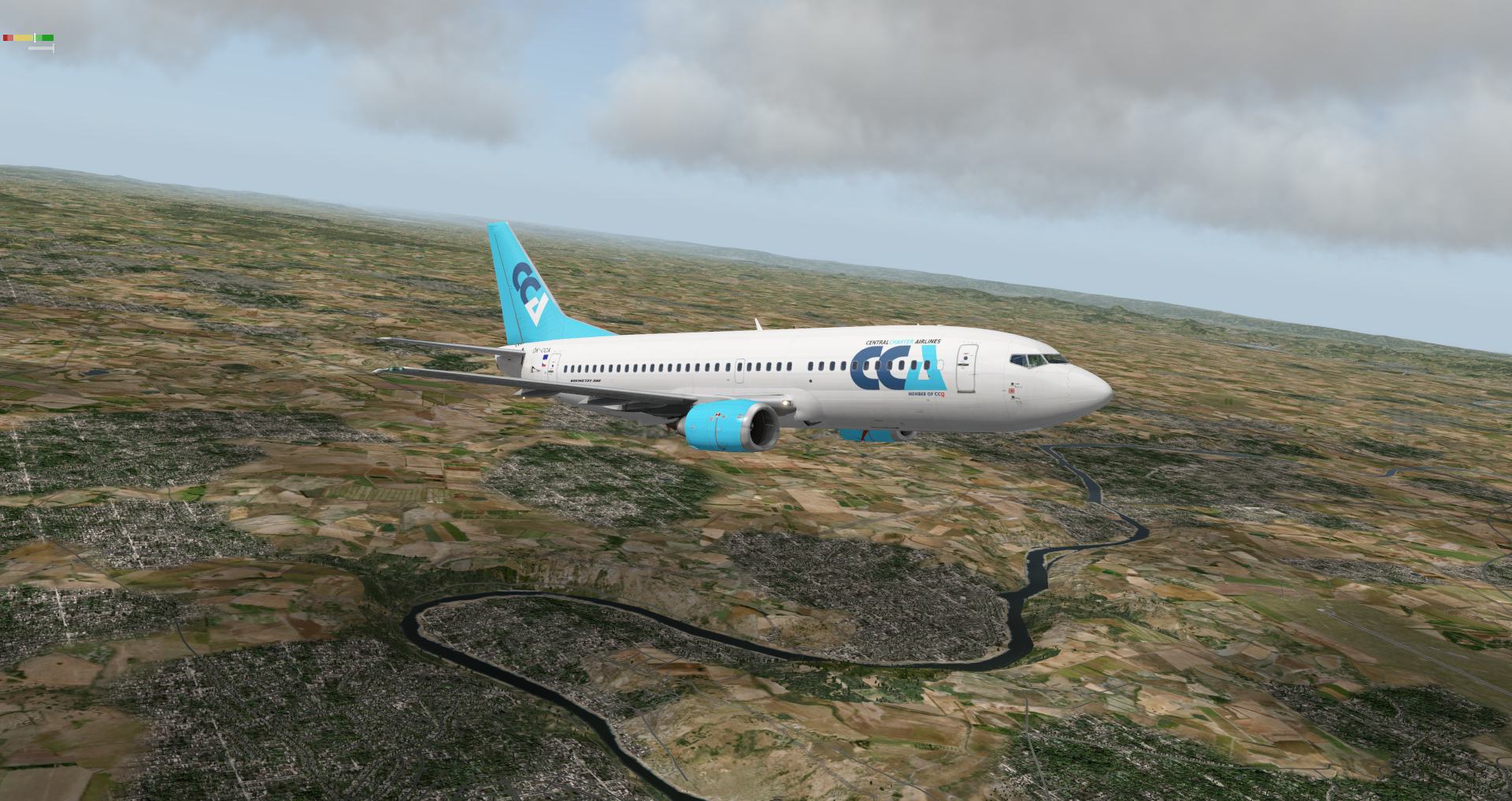 Central Charter Airlines for IXEG 737 Classic - IXEG 737