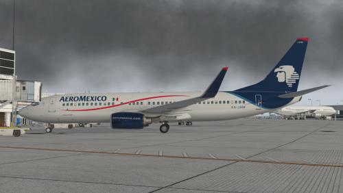 Aeromexico (Current) XP11 default 737-800 - Liveries - X-Pilot