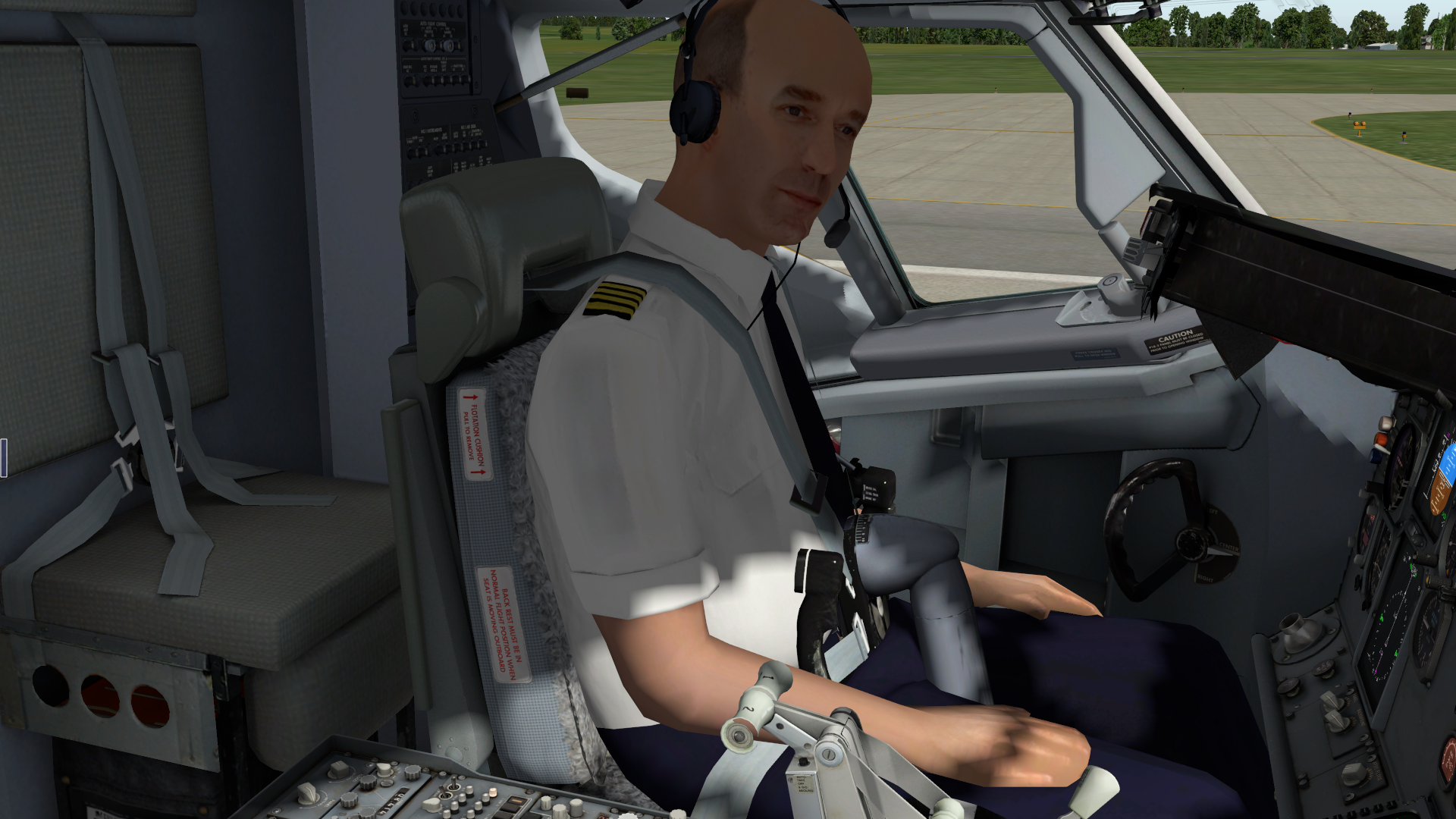 Moving seat back a little - Feature Suggestions - X-Pilot