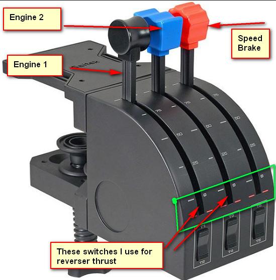 Tip for Saitek throttle quadrant in 737 - General Discussion