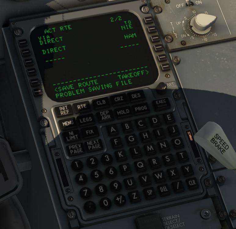 IXEG 737 flightplan - Help!?! - X-Pilot