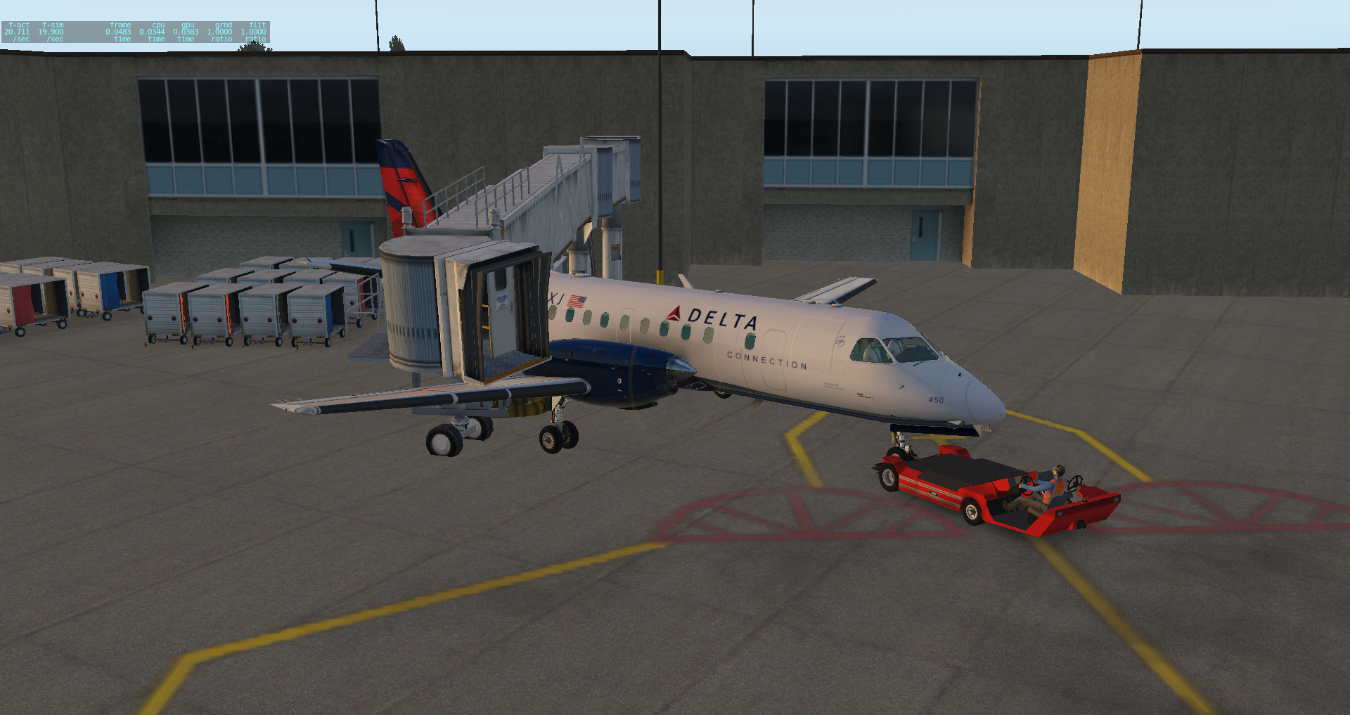Better pushback issues with Saab - Saab 340A - X-Pilot