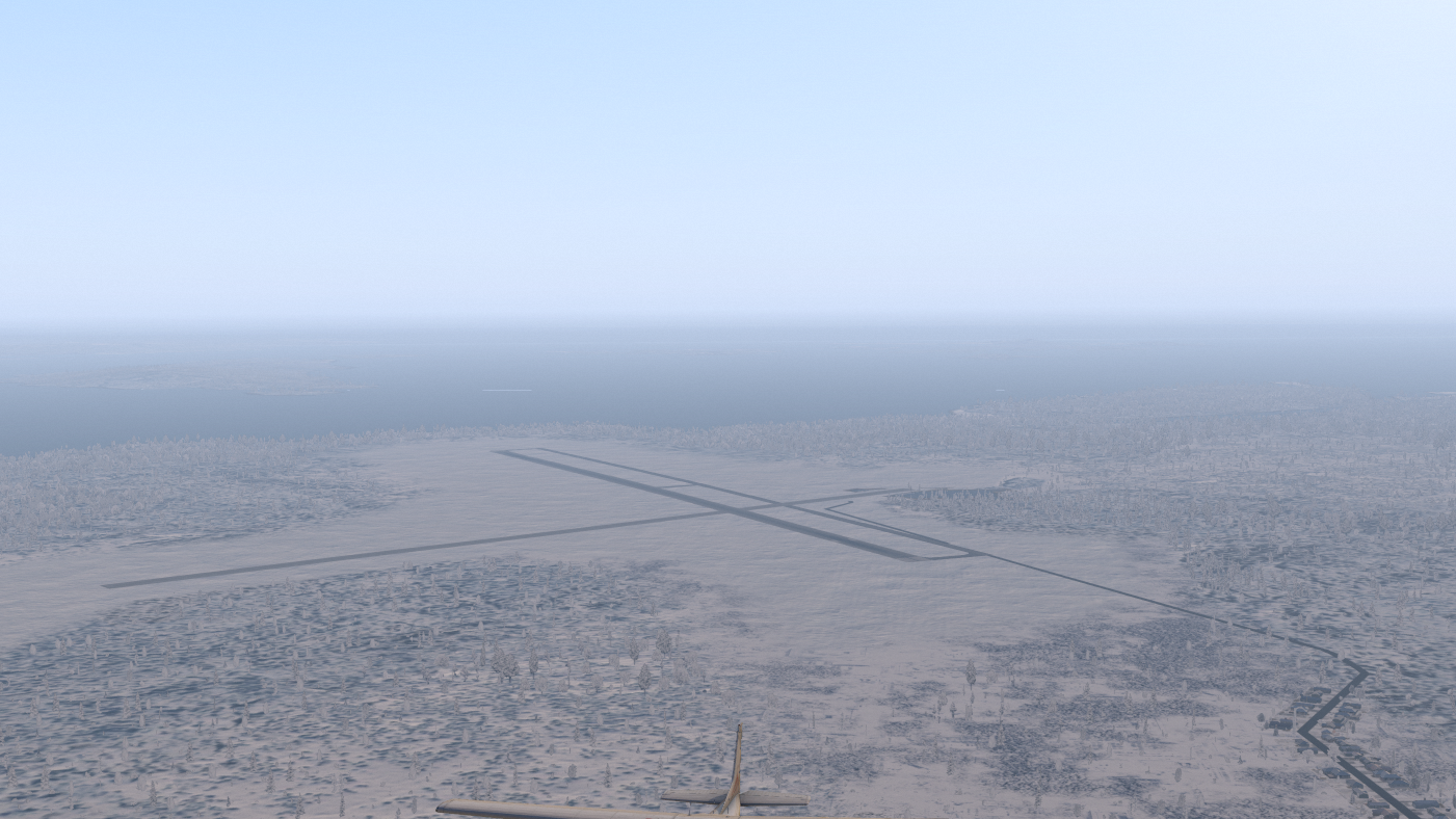 Airport snow textures - TerraMaxx - X-Pilot