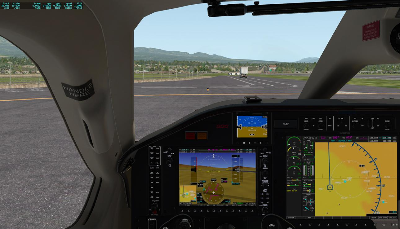 TBM 900 Slow down frame rate after long flights - TBM 900