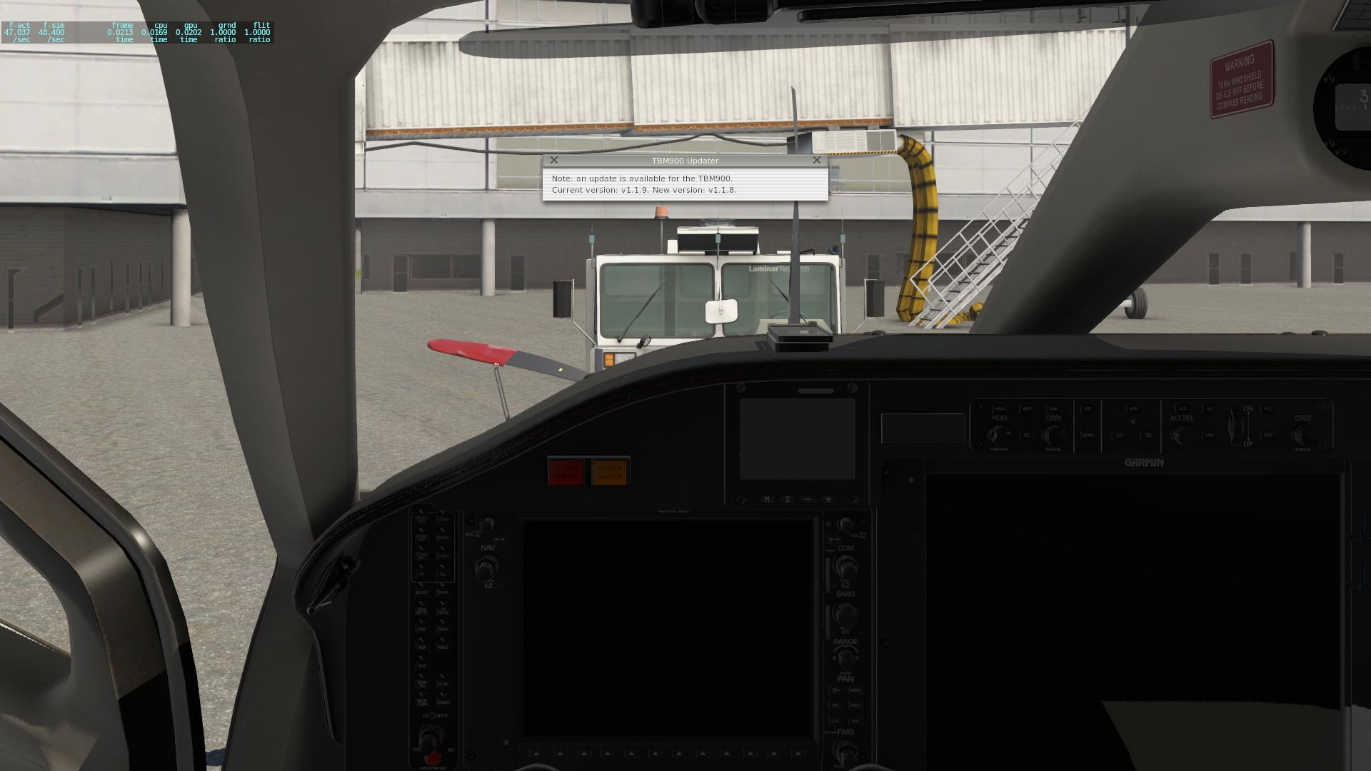 TBM 900 v1 1 9 Update Released! - TBM 900 - X-Pilot